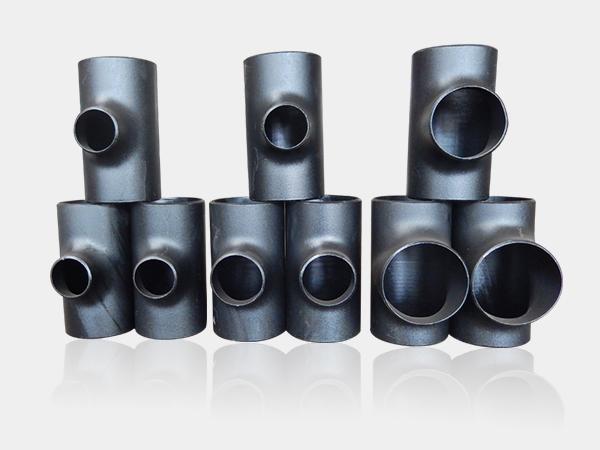 现货供应GB12459国标冲压304/316L不锈钢三通耐高温耐腐蚀