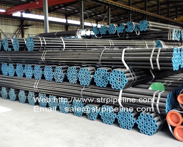 Large diameter seamless steel pipes